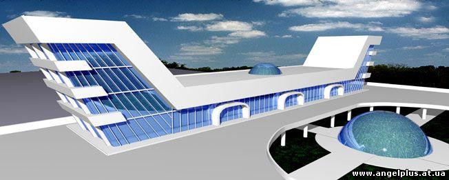 проект аэровокзала в городе