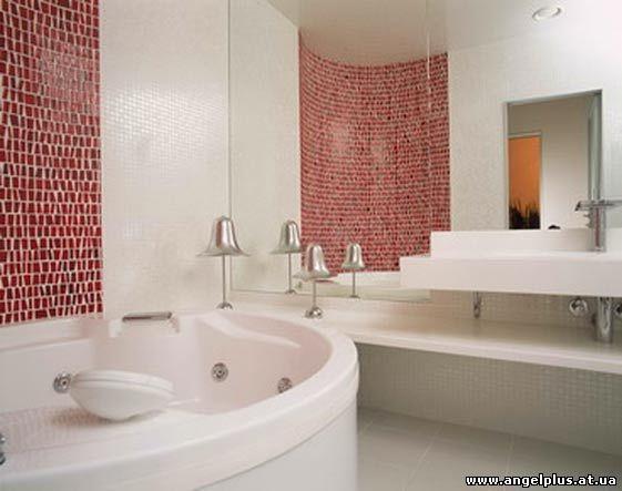 интерьер ванной комнаты в Борвихе