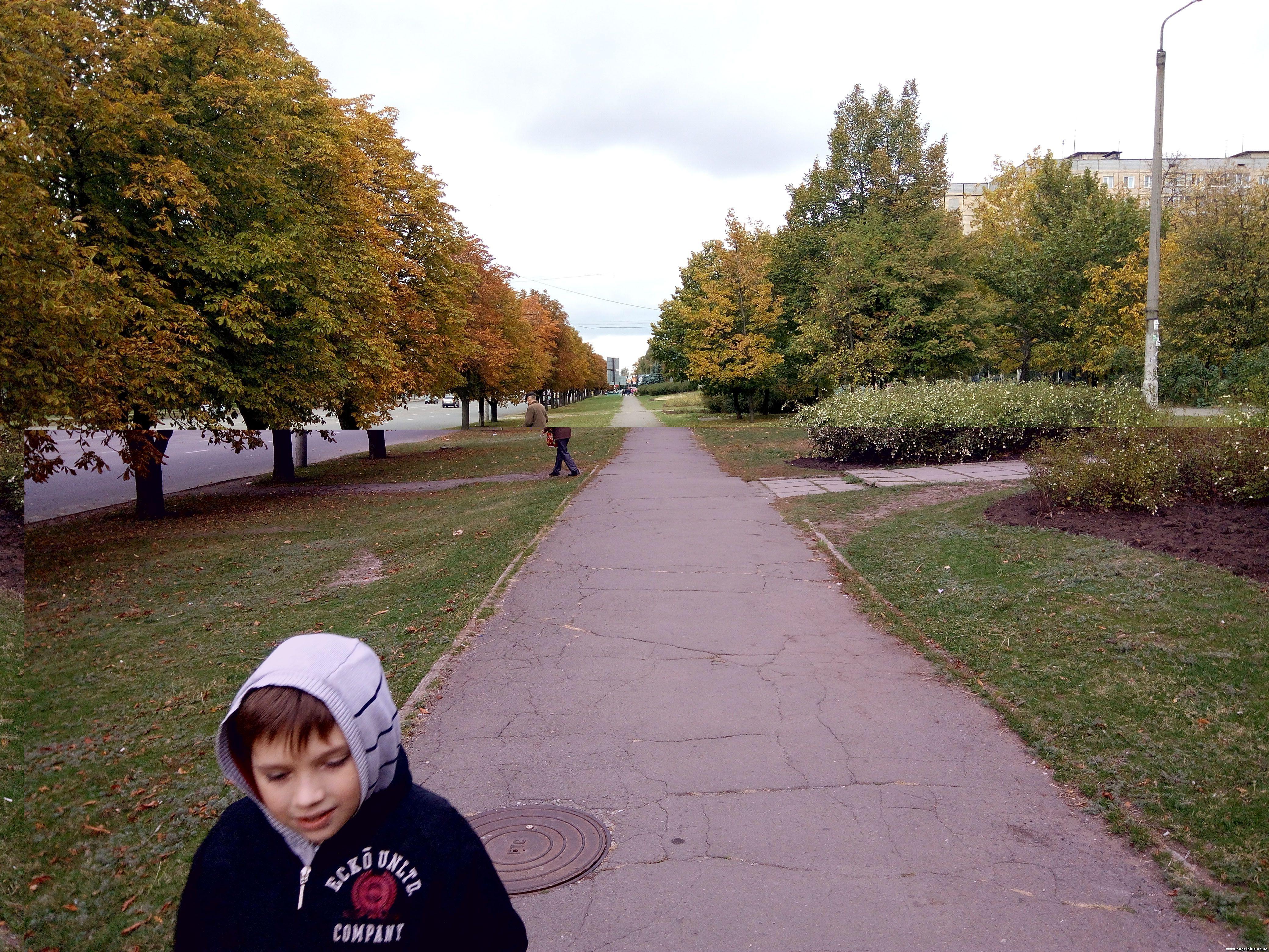 Осень в Кривбассе