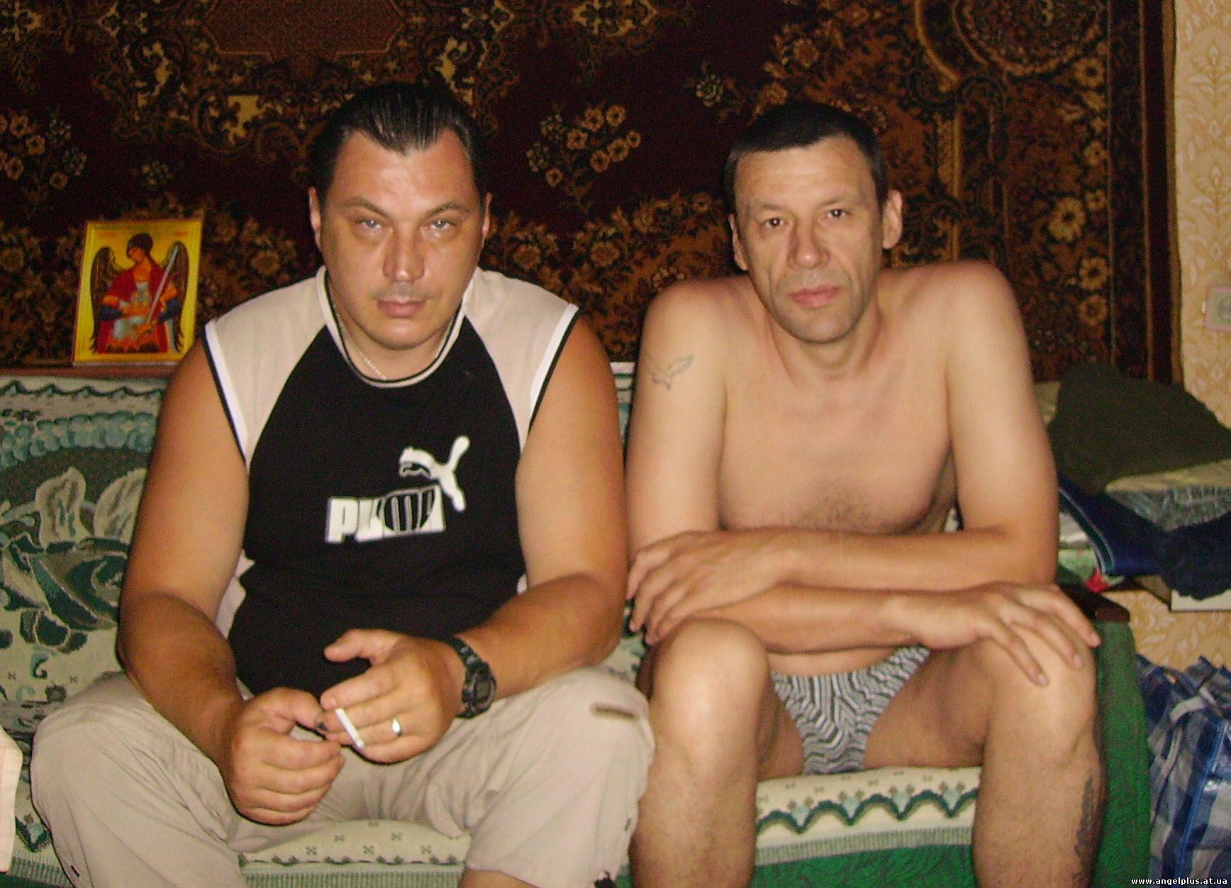 Толя Харченко и Валера Сергиенко